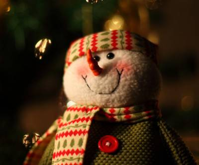 photo-christmas-snowman-muffler-cute
