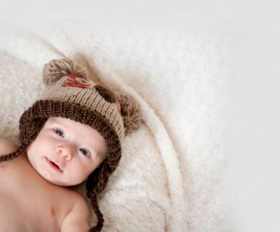 photo-baby-cute-mouse-knit-cap